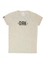 GRAY MARL BASIC TEE