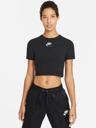 Womens Short-Sleeve Crop Top