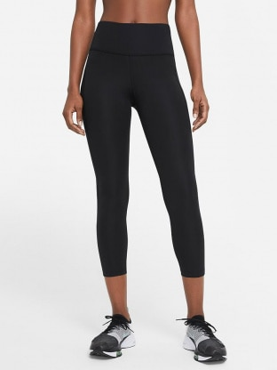Womens Cropped Running Tights