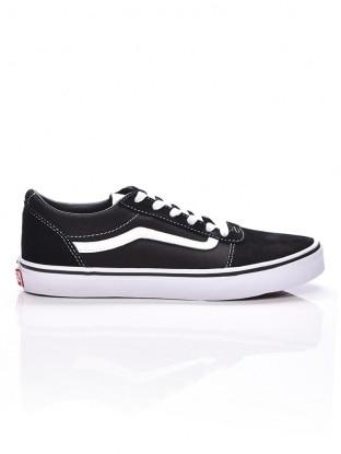 Vans Uy Old Skool kamasz fiú torna cipő fekete 32